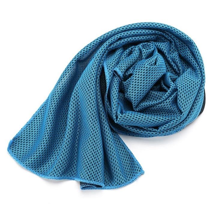 1 шт. купальники охлаждающее полотенце ледяной прочный для бега, спортзала Полотенца коврик для отдыха мгновенное охлаждение Спорт на открытом воздухе Полотенца - Цвет: L
