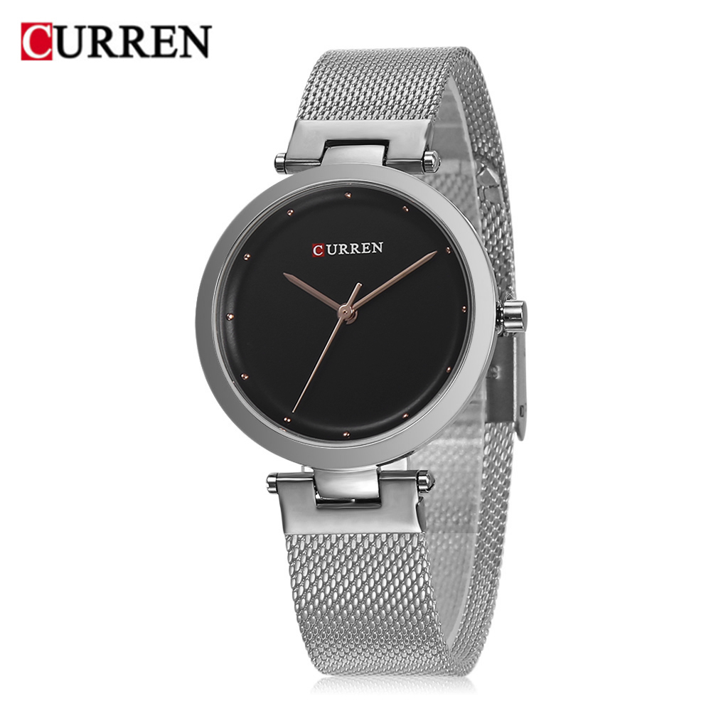 CURREN 9005 Luxury Women Watch Famous Brands Gold Fashion Design Bracelet Watches Ladies Women Wrist Watches Relogio Femininos wholesale drop shipping (8)