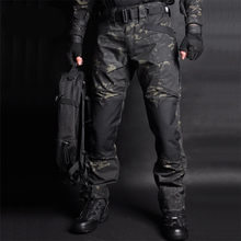 MEGE Men Jogger Tactical Pants Camouflage Military Cargo Sweatpants Loose Camo Casual Trousers Joggers pantalones tacticos XXXL
