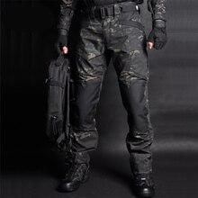 Мужские военные камуфляжные штаны MEGE, черно зеленые камуфляжные тактические штаны в стиле милитари, армейские повседневные джоггеры свободного покроя, большие размеры 2019