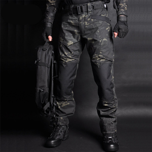 Image 1 - Mega erkekler Jogger taktik pantolon kamuflaj askeri kargo Sweatpants gevşek Camo günlük pantolon Joggers pantalones tacticos XXXL