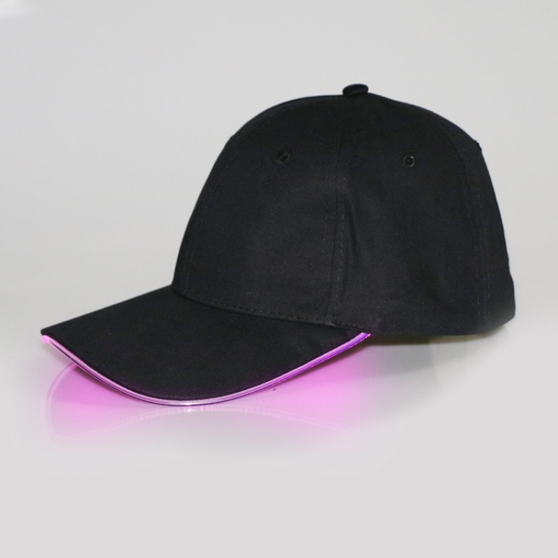 LED Light Cap Baseball Cap Men Women Cotton Hat Cool Trendy Hat