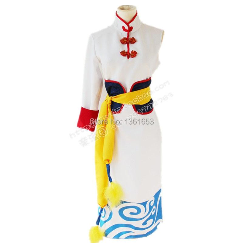 Gintama Kagura kostum kozmike Anime Kimono për vajzat gra kostume - Kostumet