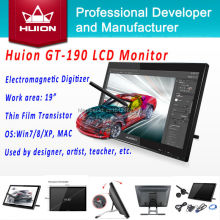 Pen Display Monitor Huion GT-190 Interactive HD LCD Monitor Handwriting Panel Digital Graphic Monitor Animation Drawing Monitors(China (Mainland))