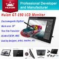 Pen Display Monitor Huion GT-190 interactivo HD LCD Monitor de Panel de escritura a mano gráfica Digital Monitor animación dibujo monitores