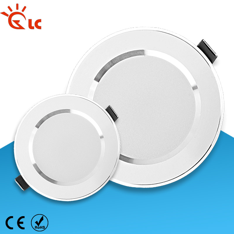 220V LED Ceiling Light 3W 5W 7W 9W 12W 15W 230V Cold White Warm White Led Panel Light For Living Room Home Indoor
