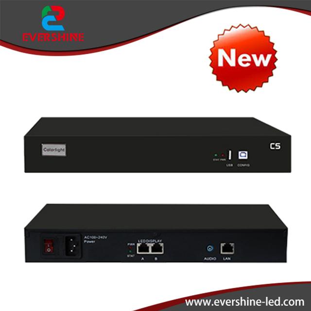 C5 LEVOU Player Com Suporte de Vídeo Grande display LED Colorlight P1.56 P1.9 P3 P2, P3.91, p4.81 P5.95 Aluguel P10 P12 P16 Uso Do Projeto