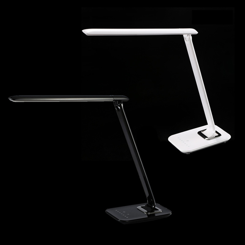 ФОТО Hot Sale Adjustable Touch Luxury 72 LED Desk Lamp Reading Light Dimmer Cool Warm Flex USB