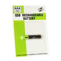 ZNTER 1 PC AAA Lithium-akku 1,5 V 400 mAh mit MICRO USB Ladekabel Für RC Kamera Drone