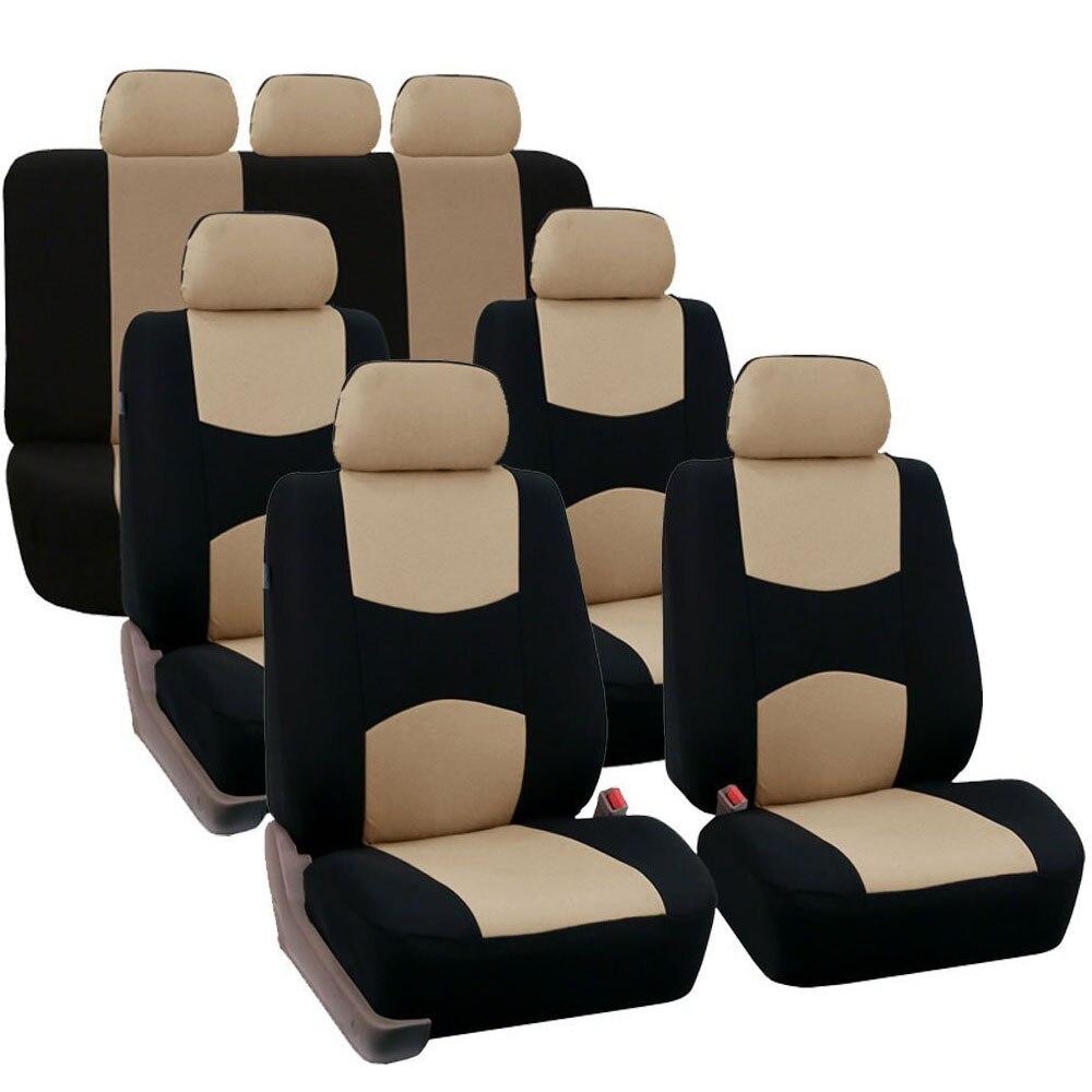 Couverture universelle de siège avant de voiture protéger la couverture Polyester quatre saisons lavable Auto fit pour SUV Van camion Bus