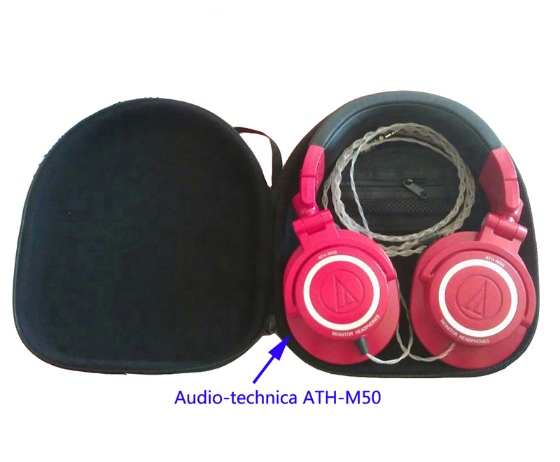 392483cfbe9 V MOTA PXA Headphone Carry case boxs For Audio Technica ATH M50 ATH PRO500  ATH PRO500MK2 ATH PRO700 ATH PRO700MK2 headphone-in Earphone Accessories  from ...