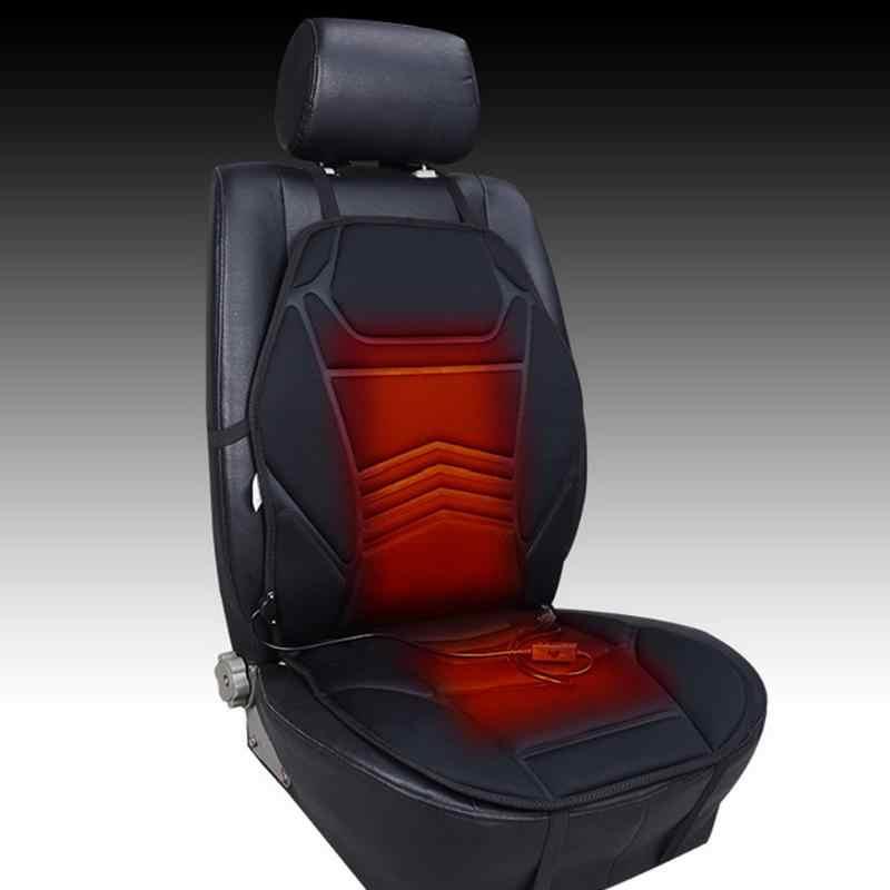 العالمي DC12V بالطاقة سيارة الجبهة مقعد دفئا الشتاء الاحترار وسادة مقعد كرسي مكتب السيارة التدفئة غطاء مقعد وساده دافئه