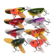 OOTDTY Water Fishing Lures Mini Floating Crank Lure Artificial Hard Bait with Hook Bionic Baits  Fishing Bait 6g 60mm bionic cicada insect fishing lures 5pcs floating plastic baits treble hook artificial locust hard bait lure