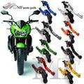 Hot Sale For KAWASAKI Z750 2007-2011 Motorcycle Accessories Short Brake Clutch Levers Logo Z750 Black