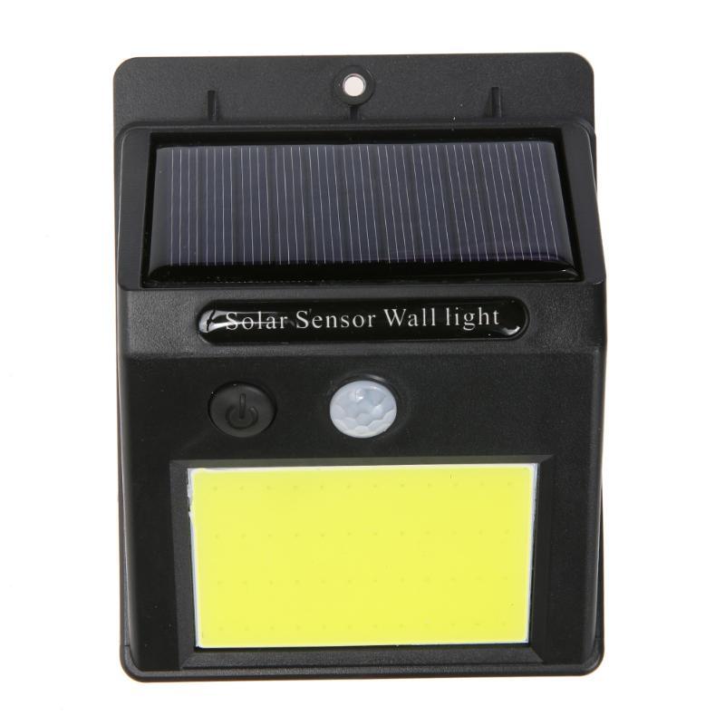 48 COB светодиодный солнечные ПИР движения Сенсор настенный светильник человеческого тела инфракрасный свет открытый Водонепроницаемый домашний сад огни безопасности