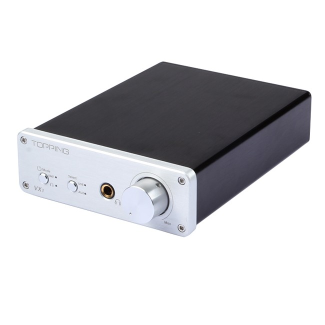 Topping VX1 2*25W T-AMP Tripath Stereo Hi-Fi Power Subwoofer Amplifier USB DAC 24Bit/96KHz Digital Amplifier