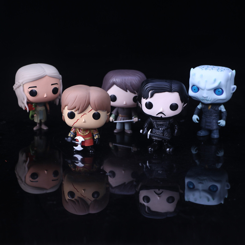 10cm Game of Thrones Characters POP Action Figures Kids Collection Model Toys all characters tracer reaper widowmaker action figure ow game keychain pendant key accessories ltx1