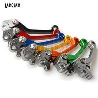 CNC Dirt Bike Pivot Brake Clutch Levers Foldable For KAWASAKI KX 125 2000 2008 KX 250