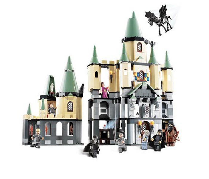 CHINA BRAND 16029 Educational bricks Toys  DIY Building Blocks Compatible with Lego Hogwarts Castle 5378