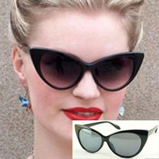 d5b4b17ec4 Summer Style Vintage retro Cat Eye Sunglasses Women Eyewear womens Sun  glasses Cat Eye shape Sunglass lunette de soleil AS12