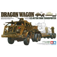 OHS Tamiya 35230 1/35 Дракон универсал США 40 тонн Танк транспортер сборки AFV Модель Строительство наборы