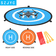 цена на SHOOT 75cm Landing Pad Parking Apron Tarmac Mini Portable Fast-fold for Mavic 2 Pro Zoom Air Spark Phantom 4 Pro Mi Parrot Drone