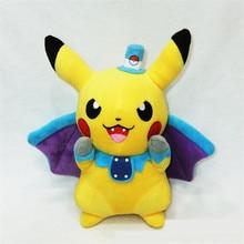 24cm  Kawaii Vampire Pikachu Plush kids Toys Cosplay Mega Charizard PP Cotton Stuffed Animals Dolls Children