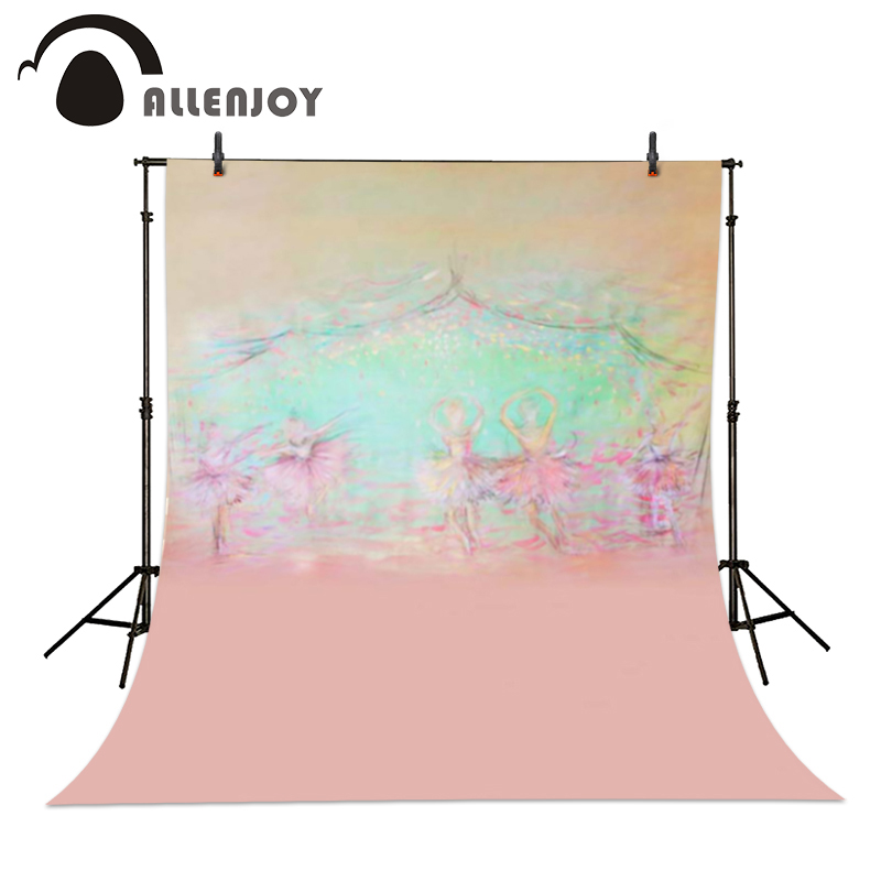 Allenjoy Photography background Stage dancers pink green bokeh backdrops baby newborn props spring background allenjoy photography background pink