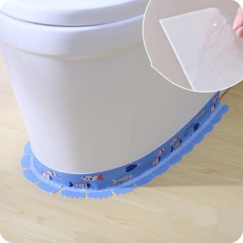 1 zestaw! Narożniki toaletowe naklejki szczelinowe powierzchnia zamszowa + samoprzylepna deska klozetowa przeciwporostowa pasta do dekoracja łazienki tanie i dobre opinie Hydraulika Taśma Taśma Maskująca miao-1347 Corner slit stickers Moisturizing deodorant raw material Length 55CM Resistant to temperature and corrosion resistance