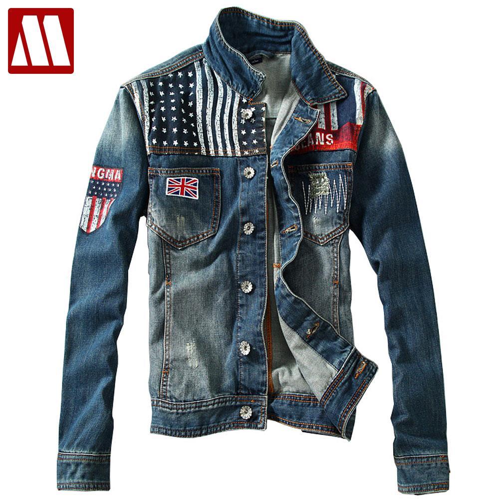 Popular Denim Biker Jackets-Buy Cheap Denim Biker Jackets lots