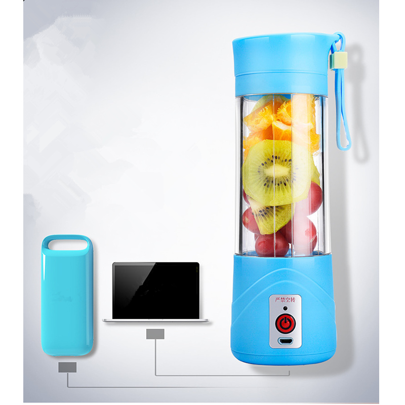 Slow Juicer Oder Smoothie Maker : Mini Portable Electric Fruit Juicer Machine USB ...