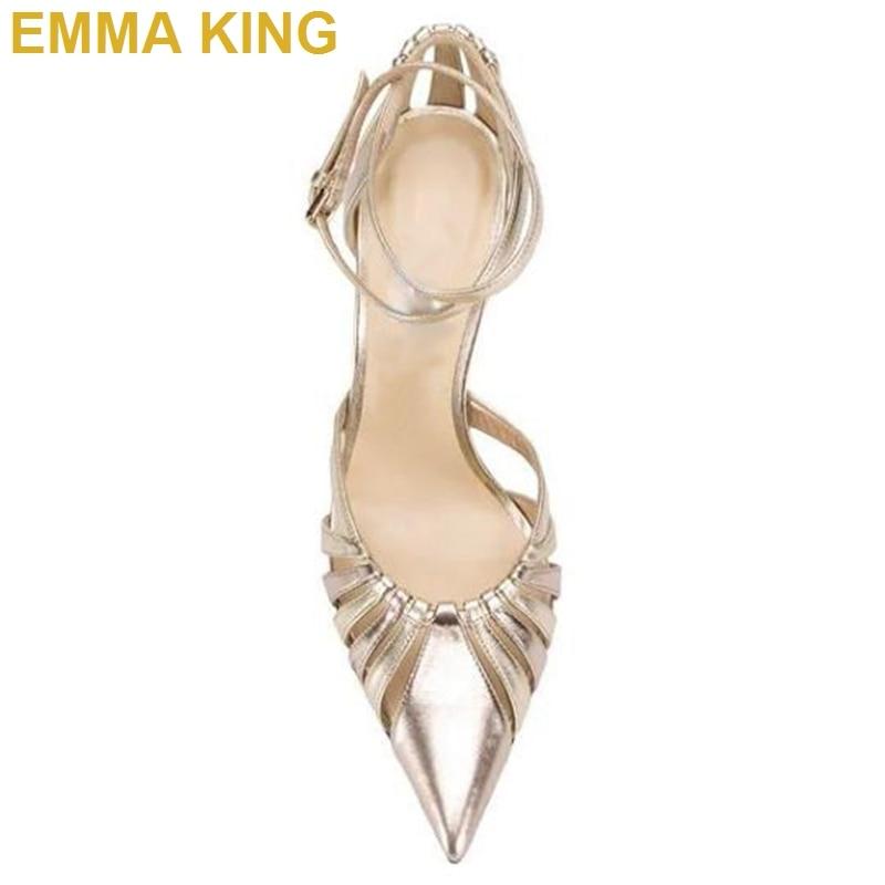 Picture Strap Mode Ferse Schuhe Out Emma Frauen Sandalen Cut König Heels Elegante Ankle High Color 2019 Spitz Stiletto Sexy xwHxOTaz