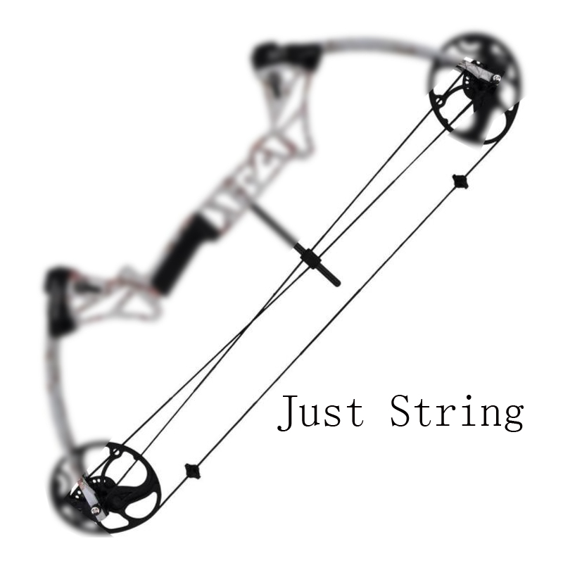 Compound Bow String in Set Bow Accessory for JunXing M1 Compound Bow Archery Hunting Shooting