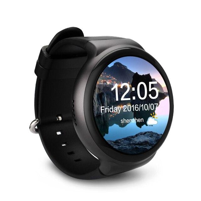 "Uwatch I4 Смарт-часы Android 5.1 ОЗУ 1 г и ПЗУ 16 г наручные MTK6580 1.39 ""AMOLED дисплей 3 г Bluetooth, Wi-Fi SmartWatch gps sim"