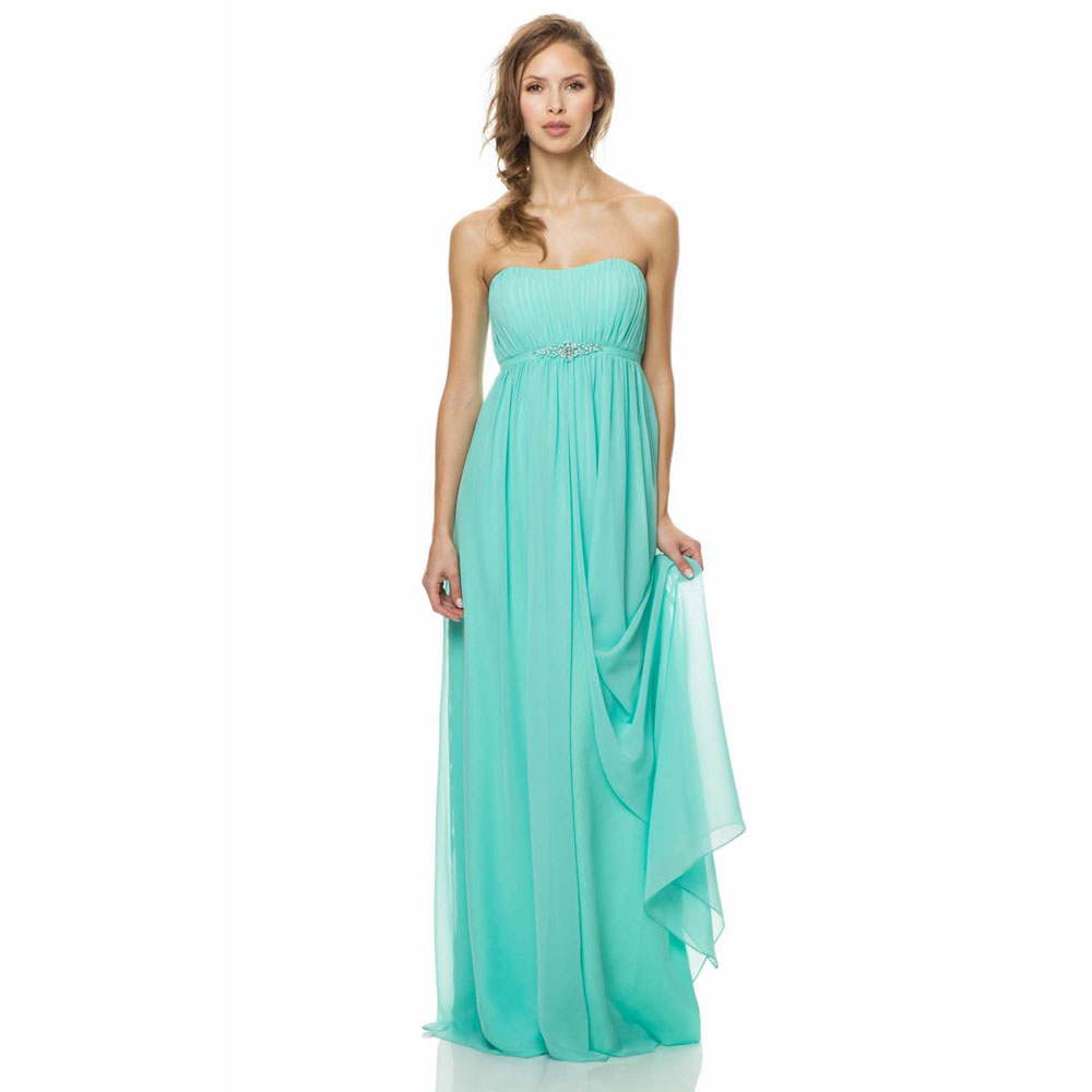 Compare prices on mint green chiffon bridesmaid dresses online long bridesmaid dress sexy chiffon bow mint green bridesmaid dress 2017 wedding party dresschina ombrellifo Images