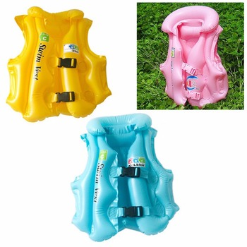 Para niños y niñas Drifting ajustable niños bebés inflable flotador traje  de baño natación seguridad chaleco salvavidas 64642705b1bd