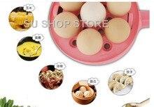 Multifunction household mini egg omelette Pancakes Electric Fried Steak Frying Pan Non-Stick Boiled eggs boiler steamer Shut Off