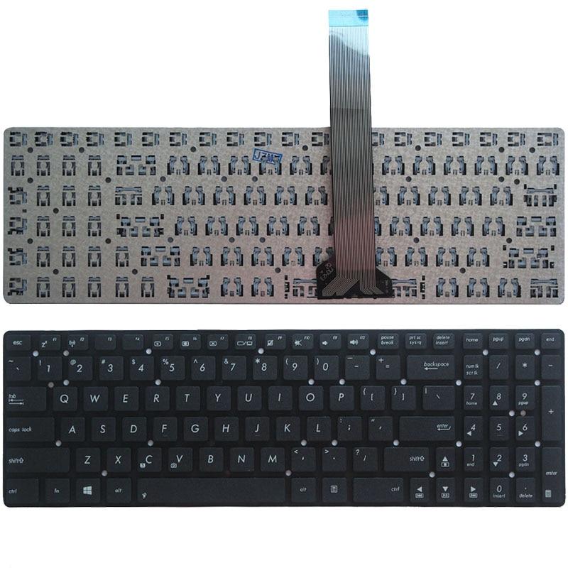 US New Keyboard For ASUS K55 K55A K55VD K55VJ K55VM K55VS A55 A55V A55XI A55DE A55DR R500v R700V English Laptop Keyboard