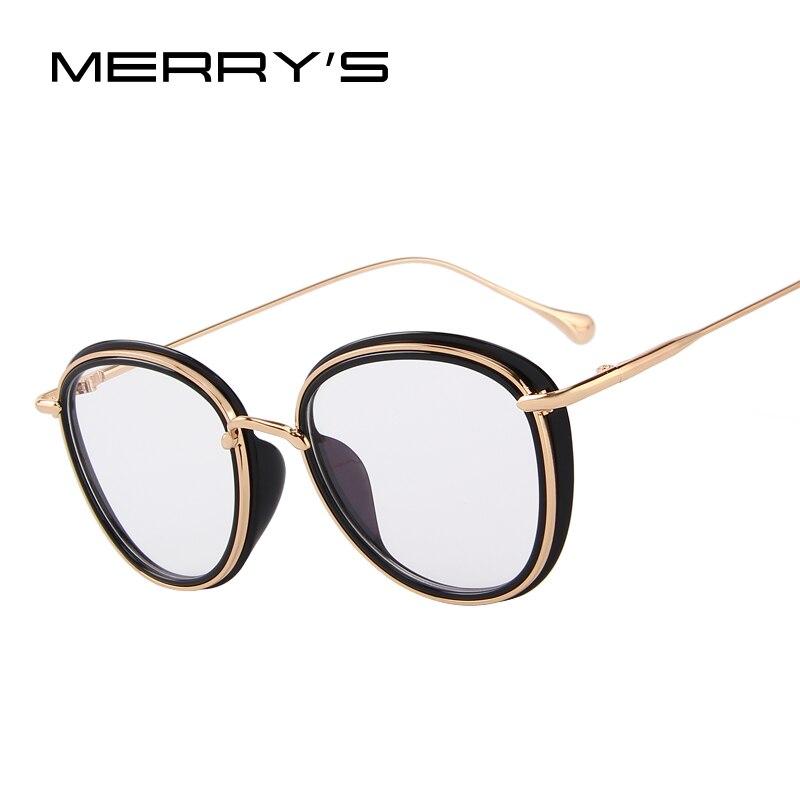MERRYS DESIGN Women Retro Cat Eye Optical Frames Eyeglasses Classic Glasses S2106