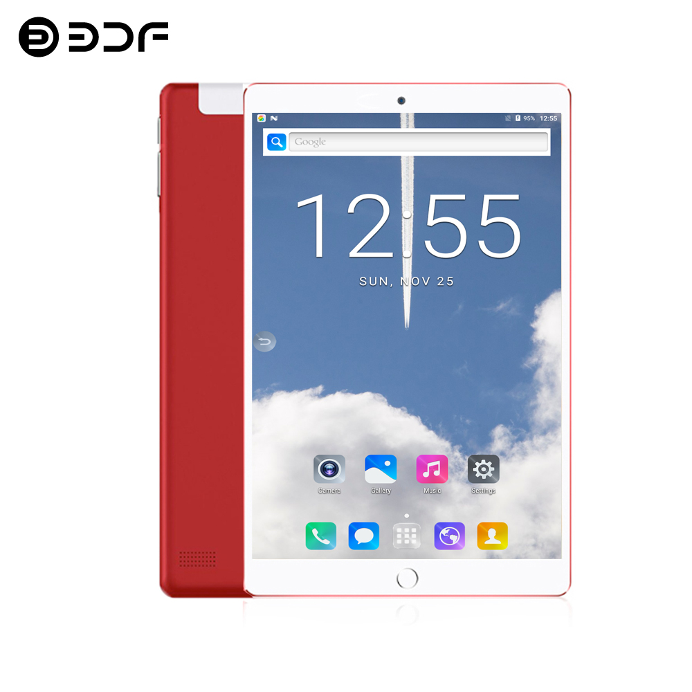 2020 New 10.1 Inch Tablet PC Android 7.0 Google Play 3G Mobile Phone Call WiFi Dual SIM Card 2.5D Tempered Glass 10 Inch Tablets