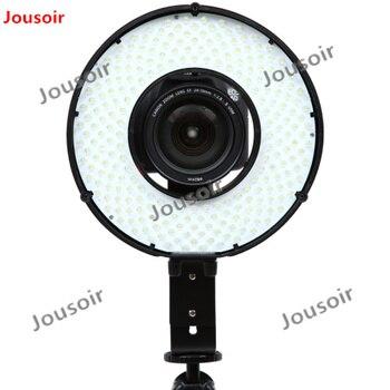 Falcon Eyes 240 Ring LED Panel 5500K Lighting Video Film Continuous Lamp W/Camera Bracket/ filter DVR-240D CD50