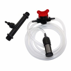 1/2 Inch 3/4 Inch Male Thread Automatic Venturi Fertilizer Injectors Kits Irrigation Venturi Tube Water Flow Control Switch Mesh