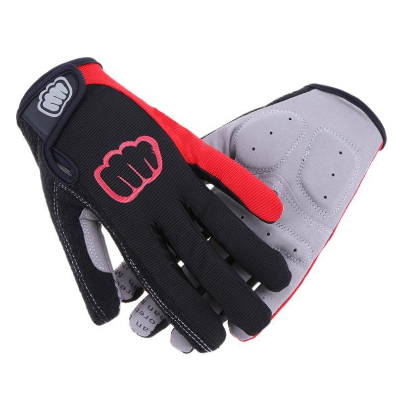 Mountain bike riding gloves full finger cycling gloves MTB road Warm long bicycle glove sport Outdoor Nylon Anti-slip Mittens