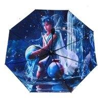 12 созвездие Солнце Дождь Зонтик творческих складной зонтик