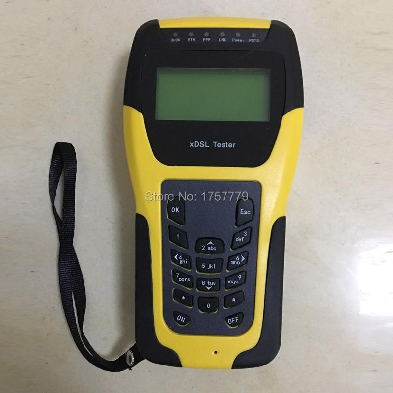 ST332B VDSL Testeur ADSL WAN & LAN Testeur xDSL Test Equipment DSL test de la couche Physique