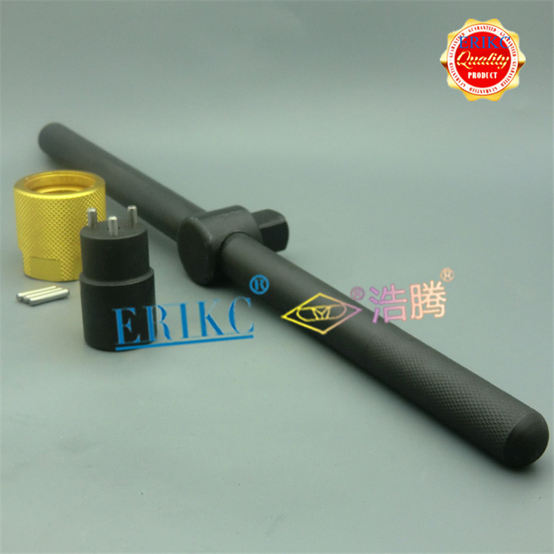 ERIKC üç çene somun anahtarları yüksek hızlı çelik kaldırmak için Cr Dens/o enjektör delikli plaka kontrol vanası