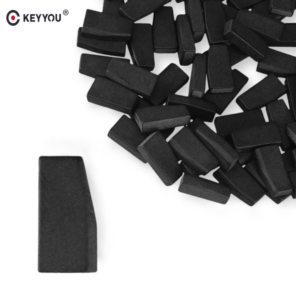KEYYOU 1PC Car Key Chips Blank ID46 4D46 Transponder Chip Carbon PCF7936AA Auto Chip Better Than PCF7936AS Chip