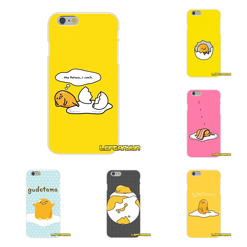gudetama lazy egg For Samsung Galaxy S3 S4 S5 MINI S6 S7 edge S8 S9 Plus Note 2 3 4 5 8 Accessories Phone Shell Covers