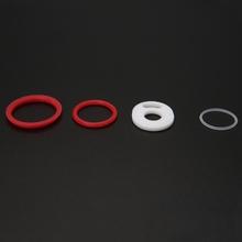 ECT wymiany pierścienia uszczelka silikonowa uszczelka zestaw do Smok TFV12 Prince Atomizer tanie tanio Krzemu Sealing Ring Kit Pierścień uszczelniający For Smok TFV12 Prince Atomizer