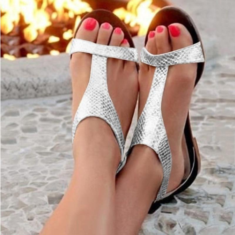 Summer Shoes Woman Sandals 2019 Fashion Open Toe Beach Gladiator Sandals Women Rome Casual Flat Sandals Summer Shoes Woman Sandals 2019 Fashion Open Toe Beach Gladiator Sandals Women Rome Casual Flat Sandals Sapato Feminino